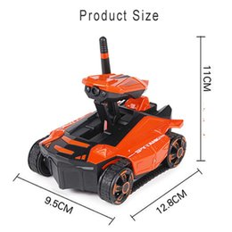 remote camera systems UK - RC Toy Tank Phone Controlled 0.3MP Camera Remote Control Car Off Road Outdoors Full Direction Driving WIFI FPV High Speed Kids