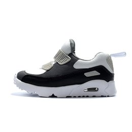 Orthopedic Shoes UK - 2019 new kids designer shoes baby 90 II shoe Sports Orthopedic Youth Kids trainers Infant Girls Boys high quality running shoes 10 Colors