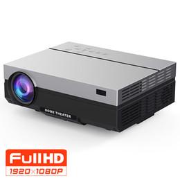 Опт Full HD Проектор 1920x1080P T26K Проектор Портативный 5500 люмен HDMI Beamer Видео Proyector LED Домашний кинотеатр Фильм