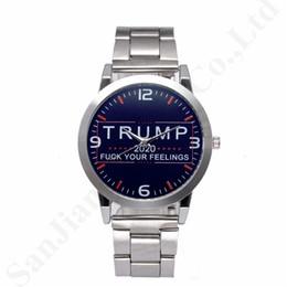 Suit watch online shopping - President Trump Mens Designer Wrist Watches Retro Quartz Wristwatches Stainless Alloy Strap Stopwatch Luxury Watch Women Watches B82702