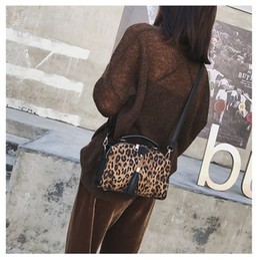$enCountryForm.capitalKeyWord Australia - Sweet style ladies shoulder bag new trend leopard print shoulder bag Messenger bag wild Boston handbags