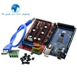 Mega Drive Australia - Freeshipping Mega 2560 R3 Mega2560 REV3 + 1pcs RAMPS 1.4 Controller for 3D Printer kit Reprap MendelPrusa