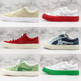 one star shoes NZ - New Tyler Mens Shoes Casual Shoes The Creator One Star Golf Le Fleur Ttc Solar Sneakers Canvas Shoes New Ttc The Creator X One Star Golf