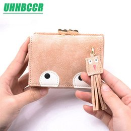 916c92c4492 Nice Pop Women s Cute Fashion Purse Big Eyes Leather Long Zip Wallet Coin  Card Holder Soft Leather Phone Card Female Clutch