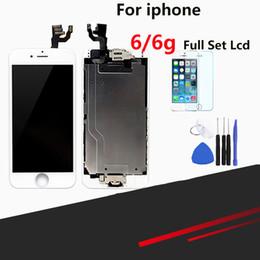 Ecran LCD de qualité supérieure pour iPhone 6 - Ecran LCD complet avec écran de remplacement et bouton pour appareil photo en Solde