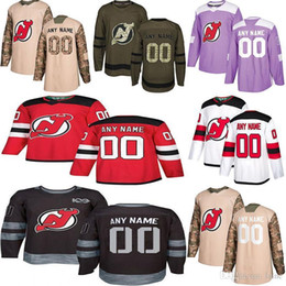 Wholesale styles p online – design New Jersey Devils P K Subban Jack Hughes Taylor Hall Multiple styles Mens Custom Any Name Any Number Hockey Jerseys