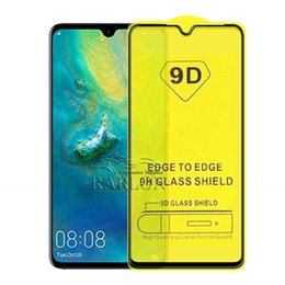 smart screen protector iphone NZ - 5D 9D 10D Full Coverage Tempered Glass Screen Protector Film For IPhonn 11 Pro Max Huawei P30 P30lite Y5 Y6 Y7 PRO Y9 P Smart 2019