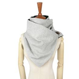 $enCountryForm.capitalKeyWord UK - Couverture designer fashion winter warm men Button scarf wool cotton unisex Herringbone chevron ring scarf women Infinity