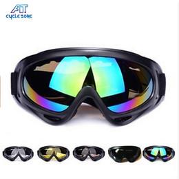 Ski Snowboard Glasses Australia - 100% UVA UVB Goggle Men Outdoor Windproof Tactical Glasses Ski Snowboard Shock Resistant Dust-proof Motocross Bicycle Glass #23530254