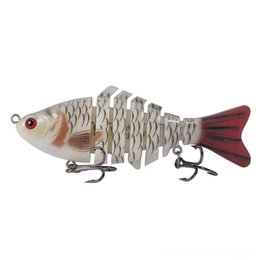 artificial bait for bass UK - mBrOe INFOF14g 0.49oz Bait Bass Jointed lure Fishing Lure Crankbait Hard Fishing Isca Swimbait Pesca Lures for Artificial Pike