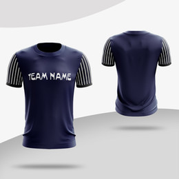 design football jerseys UK - Whoesale Professional design Men adult Boys Soccer jerseys Print Training game Football Shirts sportwear