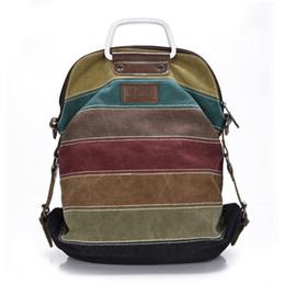 $enCountryForm.capitalKeyWord NZ - Vintage Portable Canvas Backpack Women 2019 Travel Shoulder Bagpack Casual Daypacks Mochilas Backpacks Sling Bag Female kz563