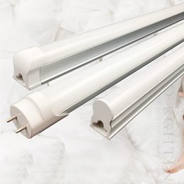 tube lights wholesale NZ - high brightness 9w 14w 18w 2ft 3ft 4ft split t8 led tube light warm nature white