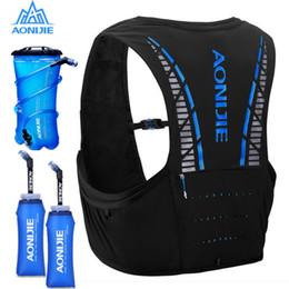 Racing Harnesses NZ - 5L AONIJIE C933 Hydration Pack Backpack Rucksack Bag Vest Harness Water Bladder Hiking Camping Running Marathon Race Climbing #836599