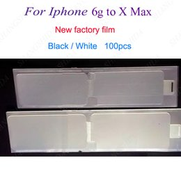 Phone sticker screen Protector online shopping - New Factory Film For iPhone g X XR p plus Refurbish Front Back refurbish Screen Protector Sticker New Phone Film For iPhone g g P MAX
