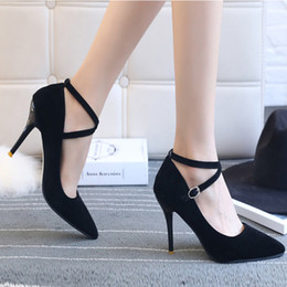 comfortable soft women shoes Australia - 2019 Spring Summer New Pumps Solid Color Lady Exquisite shoes Soft Elegant Women Leisure High-class Design Comfortable Pumps
