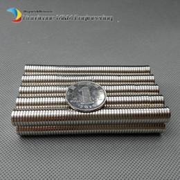 Neodymium Magnet Disc N35 Australia - 200 Pcs Dia. 10x1.5 Mm Jewery Magnet Ndfeb Disc Magnet Neodymium Permanent Magnets Grade N35 Nicuni Plated Axially Magnetized