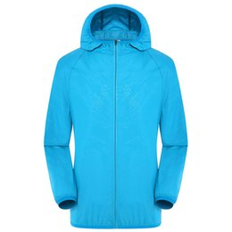 $enCountryForm.capitalKeyWord UK - Unisex Sports Zipper Ventilation Hooded Air Conditioning Coat Waterproof Smart With Cooling Fan Sun Protection Three Gear Hiking