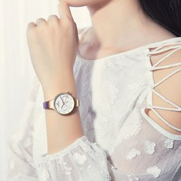 Watches Gifts For Girlfriend NZ - NAVIFORCE Luxury Fashion Women Watches Casual Leather Lady Watch Simple Woman Quartz Wristwatch For Girlfriend Gift Dropshipping