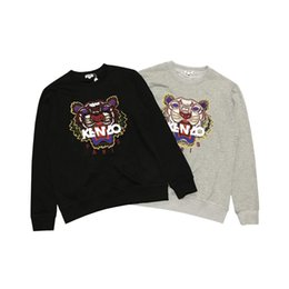$enCountryForm.capitalKeyWord NZ - Men Women Designer Hoodies Brand Mens Letter Embroidery with Tiger Pattern Couple Fashion Hoodies Luxury Men Sweatshirts 16 Styles Hot Sale