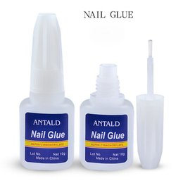$enCountryForm.capitalKeyWord Australia - NA048 10G Nail Glue Fast-Dry For UV LED Rhinestone Manicure Nail Art Tool Liquid Monomer Acrylic Crystal Nail Foil Glue