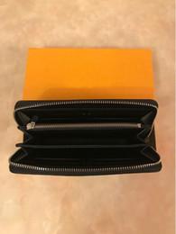 $enCountryForm.capitalKeyWord Australia - Factory Wholesale ! Fashion Women Zipper Pu Leather Wallet Men Long Zip Wallets Ladies Purse Holders female Clutch Wallets Come boxes