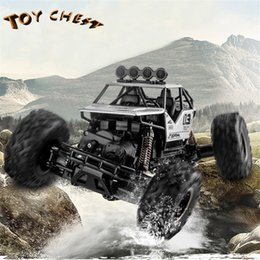 $enCountryForm.capitalKeyWord Australia - TOY CHEST 1:16 Alloy Four-wheel Suspension Drive Remote Control Toy Buggies Two Colors For Big Kids