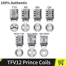 $enCountryForm.capitalKeyWord NZ - Authentic TFV12 Prince Coils V12 Prince Q4 X6 M4 T10 Core Dual Max Mesh Vape Core Fit TFV12 Prince Vape Atomizer