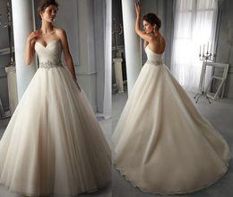 $enCountryForm.capitalKeyWord Australia - V neck sleeveless Wedding dresses sexy crystal sash lace decoration sexy back skirt bohemian wedding dress bridal gowns