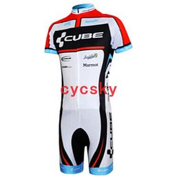 $enCountryForm.capitalKeyWord UK - cube Sumner 2019 New Short Sleeve Skinsuit Cycling Jerseys Set Mountain Bike Bicycle Clothing Sportswear Men's cycling equipment