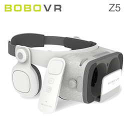 virtual reality controller Australia - BOBOVR Z5 Virtual Reality 3D Glasses Cardboard FOV 120 Degrees VR Box 3D Headset for Android IOS with Daydream Remote Controller