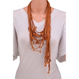 $enCountryForm.capitalKeyWord NZ - European and American Exaggerated Necklaces Irregular Necklaces Multi-layer Complex Sweater Chain