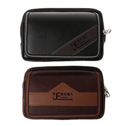 case phone silk 2019 - 1Pc Universal Bag Pouch Belt Card Holder Pocket Men Wallet Phone Case Cover Phone bag New cheap case phone silk