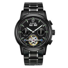 Male Wrist Watches Australia - New Pattern Wrist Watch Wheel More Function Automatic Male Surface Waterproof Leisure Time fashion casual quartz watches men Hot wristwatche