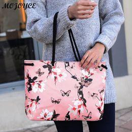 $enCountryForm.capitalKeyWord Australia - Floral Printing Shoulder Beach Bags Handbags Casual Female Tote Hobos Shopping Bag Bolsa Feminina Lady Large Capacity Tote Nice
