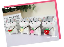 $enCountryForm.capitalKeyWord Australia - 2019 New Backpack Fruit Hamster Plush Toys Cartoon Creative Mouse Dolls Factory Ultra-low Wholesale