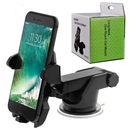 Wholesale Universal Degree Mobile Car Phone Holder Adjustable Window Windshield Dashboard Holder Car Mount Stand For All Smart Phones