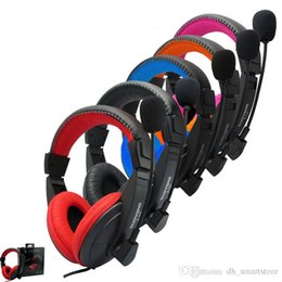 $enCountryForm.capitalKeyWord Australia - S-750 Wired 3.5mm Headset with Microphone Earphones Gaming Belt Game Headphones for Computer PC Laptop High-Definition Microphones