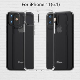 TransparenT plasTic shell online shopping - ClearTransparent Acrylic TPU Phone Case For iPhone Pro Max Pro XS Max XR XS Shockproof Mobile Phone Back Shell Cover D