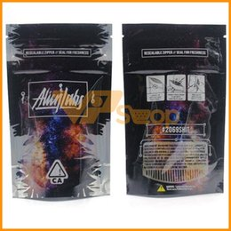 Pack Lab Australia - 2019 Latest Alien Labs Bags Resealable Zipper Seal Bag for Freshness Childproof Flowers Packing Cookies Connected Stoney Patch IN STOCK