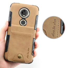 Capa moto online shopping - 6 Cloth Card Slot for Motorola E5Plus Case Motorola Moto E5 Plus Cover Flip Back cover for Motorola E5 Plus Case Capa TX1924