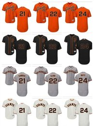 maillot fille achat en gros de-news_sitemap_homeHommes personnalisés Femmes Youth SF Giants Jersey Deion Sanders Will Clark Willie Willie Mays Orange Grey Blanc Enfants Girls Baseball Jerseys