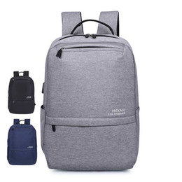 Wholesale Sale New arrival laptop backpack usb charging computer backpacks casual style bags large male business travel bag backpack