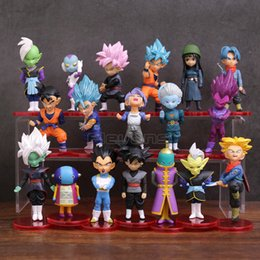 $enCountryForm.capitalKeyWord Australia - Dragon Ball Super Son Goku Gohan Vegeta Zen o Jaco Trunks Mai Zamasu Grand Priest PVC Figures Toys 18pcs set Y190529