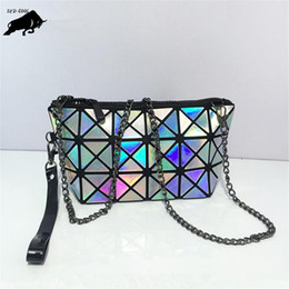 $enCountryForm.capitalKeyWord Australia - Pop Nice Women Fashion Laser Bao Bao Bag Geometry Package Folding Bags Crossbody Bag Women Famous Brand Messenger Bags