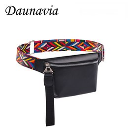 bohemian leather bag Australia - Fashion Fanny Pack Waist Bag for Women PU Leather Bohemian Belt Bag Women Phone Pouch Casual Black Chest Bags Girls Shoulder
