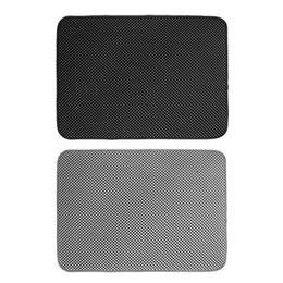 Eva foam floor carpEt online shopping - Folding Cat Litter Trapper Mat Waterproof Honeycomb Sifting Pad Protect Floor Carpet Eco friendly EVA Foam Trash Pad