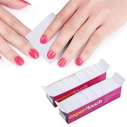 $enCountryForm.capitalKeyWord Australia - KEYATI 620 Pcs Lint Free Nail Wipes Nail Art Gel Polish Remover Cotton Pads