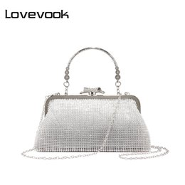 evening lady handbag wallet purse NZ - LOVEVOOK women bag female evening clutch ladies shoulder crossbody bag for party purse wallets small purses and handbag 2019 Y200103