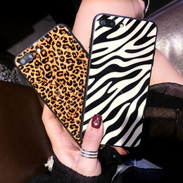 Zebra Phone Case Iphone Australia - Mytoto Leopard Tempered Glass Phone Case For iPhone 7 8 6 6S Plus Zebra Back Cover For iPhone X XS MAX XR 8Plus Shockproof Case